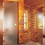 Как утеплять двери для саун и бань, чтобы изморозь не мешала их открыванию?
