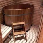 Купель в бане: о полезных свойствах и материалах изготовления